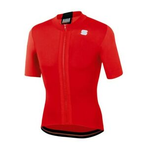 $79 Sportful Strike Cycling Jersey /Red - Size Large - Fits Like Medium