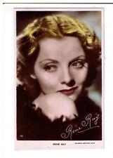Postcard: Rene Ray - Gaumont British Star