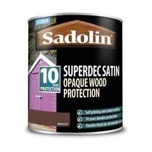 Sadolin Superdec Satin Walnut Opaque