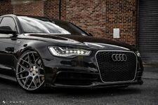 "20"" Avant Garde M590 Wheels For Audi A6 20x10 5X112 Satin Silver Concave Rims"