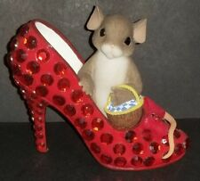 "Charming Tails ""May Your Shoes Bring You Home Again"" Excellent Condition"