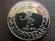 1972 UNDERWOOD 150th ANNIVERSARY COPPER COMMEMORATIVE MEDALLION