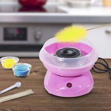 mini joy -Macchina per Zucchero Filato 450W 30 x 30 x 28cm Rosa o azzurro