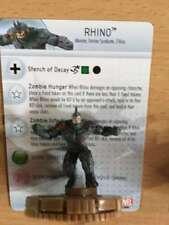 Marvel Heroclix Deadpool#62 Rhino chase zombie