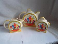 Brughiera ceramica Art Deco Clarice CLIFF CROCO design