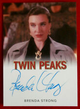 David Lynch's TWIN PEAKS - BRENDA STRONG - Personally Signed Autograph Card 2019