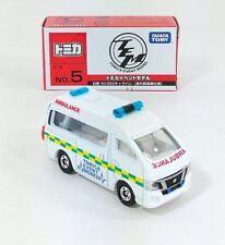 Tomica Event Model No.5 Nissan NV350 Caravan (Ambulance) FREE SHIPPING WORLDWIDE