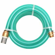 vidaXL Suction Hose with Brass Connectors 4m 25mm Green Watering Pump Hose