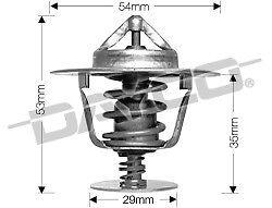 DAYCO Thermostat for FORD MAVERICK DA 1988-1994 4.2L DIESEL TD42 PATROL Y60 GQ