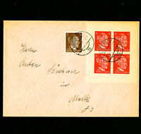 Germany Rare Teeth Stamp Block Cover