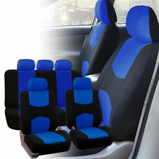 Seat Covers for Car Truck SUV Van Universal Fitmentment Blue Black
