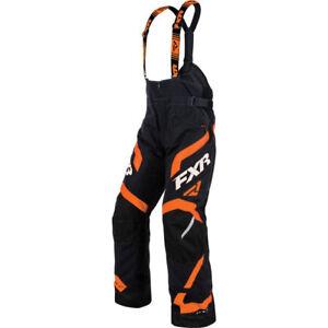 FXR Team FX Mens Skiing Snowboarding Snowmobile Pant 2XL Orange/Black