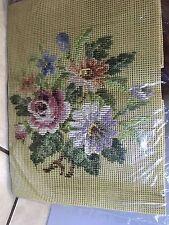 Tramme Needlepoint Kit Floral Penelope NIP
