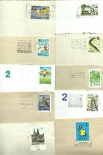 ALAND - 10 used COVERS from Åland Islands