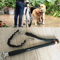 Dog Bicycle Leash Hands Free Lead Pet Walker Run Train Ride Bike Distance Keeper
