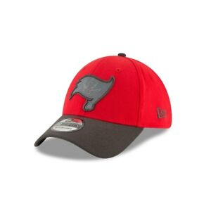 "Tampa Bay Buccaneers New Era NFL Sideline ""Reflective"" 39THIRTY Flex Hat-Red/Gry"