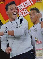 MESUT ÖZIL - A2 Poster (XL - 42 x 55 cm) - Fußball Clippings Fan Sammlung NEU