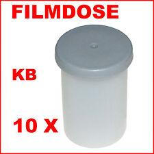 10 Filmdosen, Geocaching, Angeln, Perlen, weiss-grau ,;