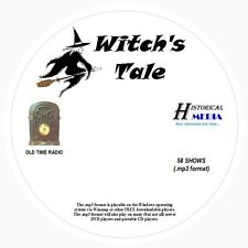WITCH'S TALE - 58 Shows Old Time Radio In MP3 Format OTR 1 CD