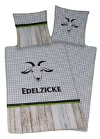 Herding Renforce Wende Bettwäsche Set 2 teilig Edelzicke 135x200cm
