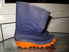 Jungen Gummistiefel Regenstiefel Schuhe Gr. 29 blau