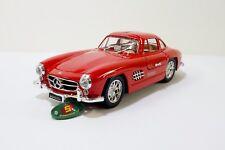 Sunnyside 1954 Mercedes-Benz 300SL 1:24 Scale Diecast Car Model Red NEW