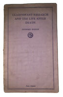 GERALD YORKE'S COPY, CLAIRVOYANT LIFE AFTER DEATH 1935, ALEISTER CROWLEY, OCCULT