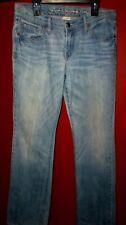 """RUEHL New York No.925 Stretch Wm's sz W-28"""" L-31"""" Boot Cut Lite Blue Jeans"""