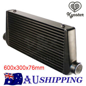 3'' Outlet/Inlet For Universal Bar & Plate Front Mount Intercooler 600x300x76mm