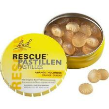 BACH ORIGINAL Rescue Pastillen Orange Holunder 50 g PZN 3912799