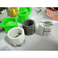 Art Flower Pot Concrete Silicone Mold Ashtray Plaster Cement Mould for Plant HY