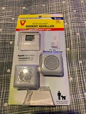 Victor M753K PestChaser Plug-In Electronic Pest Repeller 2 Rodents W/ Nightlight