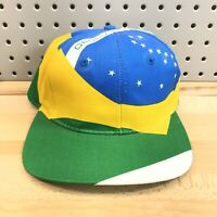 "Brazil 1996 Olympic Games Hat Atlanta GA NOS With Tags Snap Back RARE ""Brasil"""