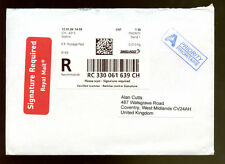 Switzerland 2006 Certified Mail To UK Cover #C1145