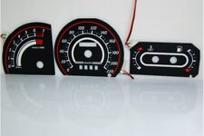 Ford Escort MK4 glow gauge plasma dials tachoscheibe glow shift indicators MPH K
