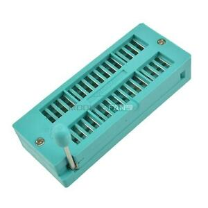2PCS Narrow-Body 32P 32Pin Universal ZIF DIP Test Tester IC 3M Socket 2.54MM TOP