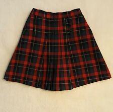 Girls Michael's Red Plaid School Uniform Skort Size Girls Size 6