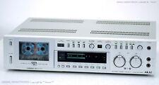 Akai gx-f90 vintage gama alta cassette Tape Deck top-formaci! revisadas +1j. garantía!