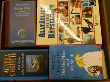 40 Bücher Hardcover Romane Sachbücher verschiedene Themen Paket 5