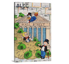 Alec Monopoly Canvas Mr Monopoly Richie Rich And Scrooge On Wall Street Wall Art
