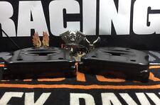 Custom Harley Matte Black 84-99 Evo Rocker Box Covers Nice! (1)