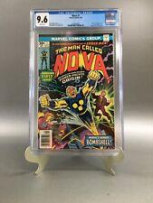 NOVA #1 CGC 9.6 (NM+) White Pages Marvel 1976 1st Nova Richard Rider New Case!