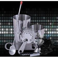 13 Piece Professional Bar Set - Drink Mixology Starter Set - Bar/Pub Tools