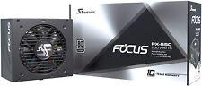 ALIMENTATORE MODULARE  PC DESKTOP SEASONIC FOCUS PX550 550W 80PLUS PLATINUM