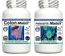 Matriz de Parásitos del Colon Intestinal Limpiador Dieta Polvo Oxy Desintoxicación Pastillas ayuda de pérdida de peso