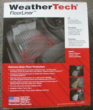 WeatherTech 446071 Front FloorLiners Chevrolet Silverado GMC Sierra Black