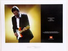 Rare Vintage Eric Clapton World Tour JBL Magazine Ad Proof Print 15 X 18 Poster