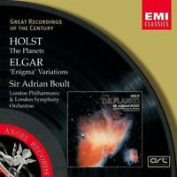 Sir Adrian Boult - Elgar Enigma Variations Holst The (NEW CD)