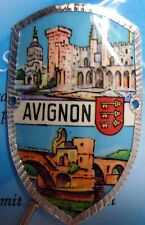 France Avignon new badge mount stocknagel hiking medallion G9742