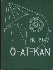 LeRoy High School Le Roy New York 1967 O-AT-KAN Yearbook Annual HS K-12